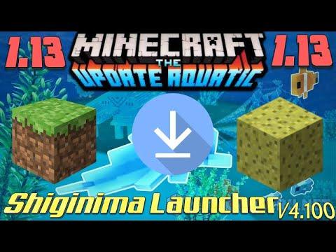 [Descargar: Shiginima Launcher V4100] -Minecraft 1.13- PC –