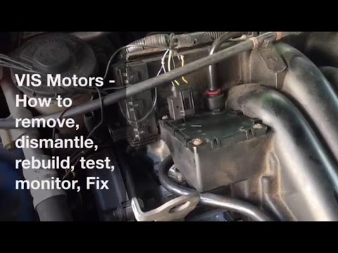 How to Fix VIS Motors - Test, Monitor, Dismantle & Rebuild.