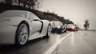 LaFerrari Vs Porsche 918 Vs McLaren P1: World Exclusive (teaser) – Top Gear Magazine iPad - BBC