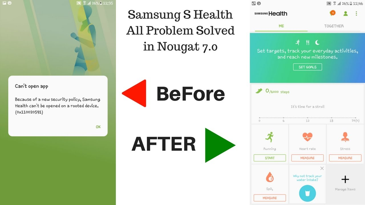 How To Fix Samsung S Health Can Not Be Open In Rooted Device