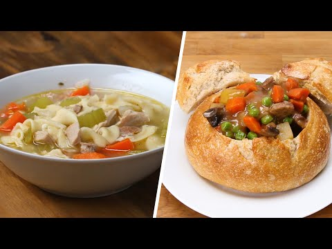 6 Warming Soups and Stews