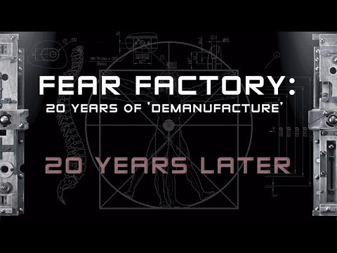 FEAR FACTORY - 20 Years of Demanufacture (PART 3: Interview with Monte Conner)