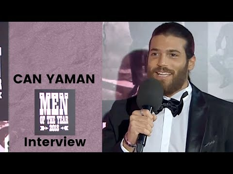 Can Yaman  ❖ GQ Men Of Year  ❖ TWO Interviews ❖ Closed Captions 2019