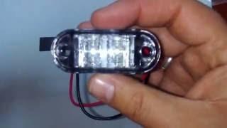 Фонарь габаритный WAS передний, с/диод. Lantern WAS dimensional front with / diode