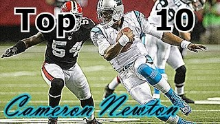 Cam Newton Top 10 Plays of Career