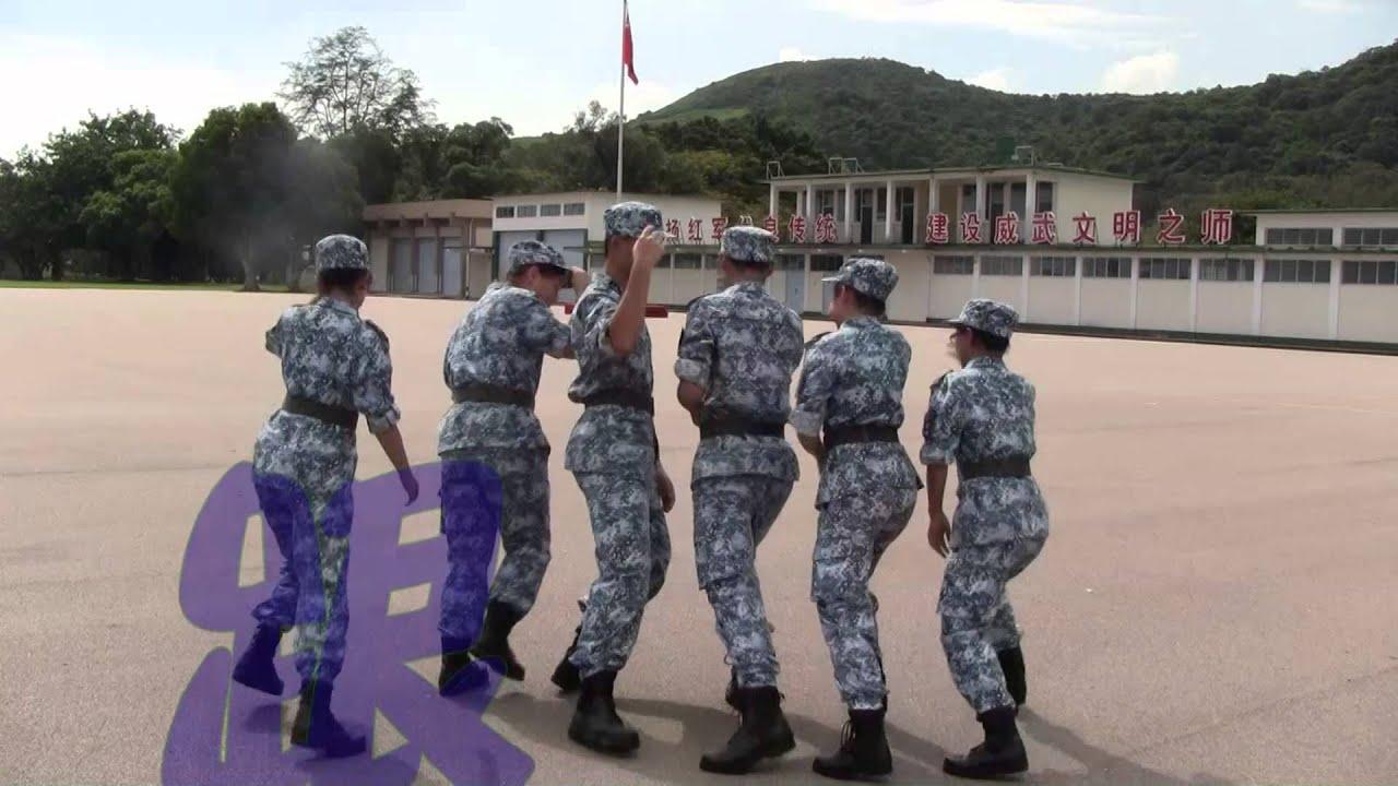 香港青少年軍事夏令營 呢個moment我要爆喇 - YouTube