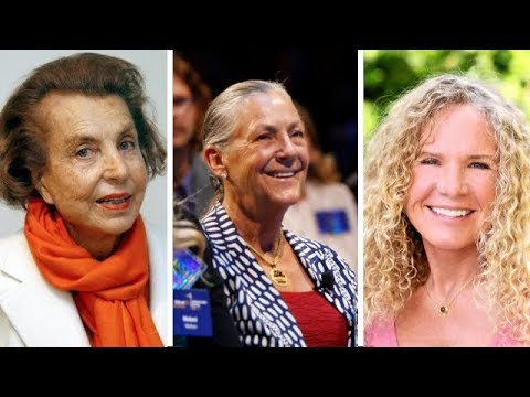 Top 25 Richest Women in The World