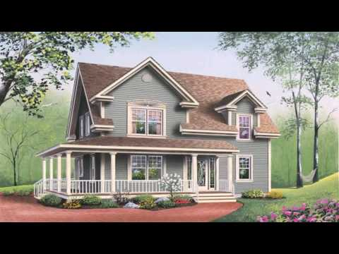 American Country Style House Plans