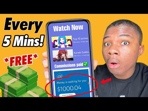NEW | Earn $24 Per 5 Mins Watching Free Videos! (Free Paypal Money 2021)