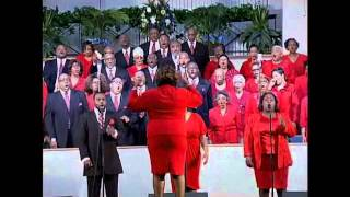 "Bishop Neal Roberson & Macedonia Mass Choir Live  ""He Saw Me"""