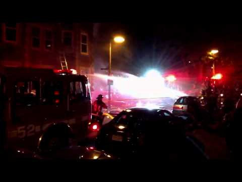 Fire in Boston