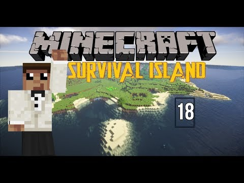 Farm progress  Survival island II  Minecraft Timelapse  Part 18