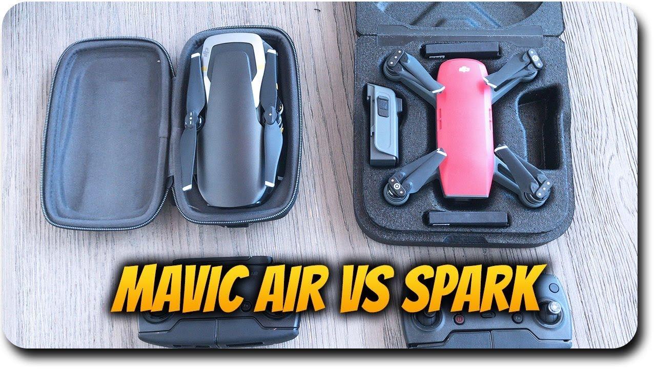 DJI Mavic Air Vs Spark Comparison