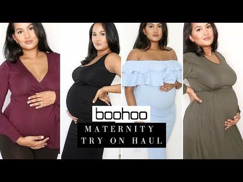 Boohoo Maternity Try On Haul | Boohoo.com | Ariellethalia