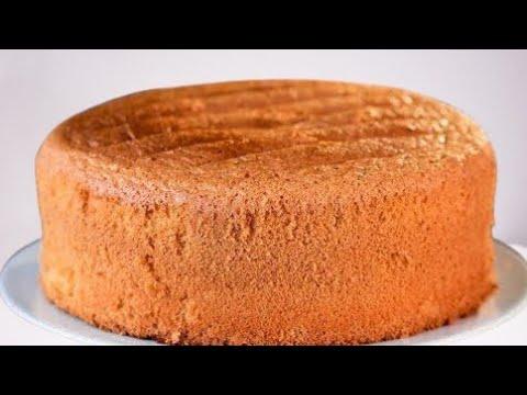 comment-faire-une-recette-de-gâteau-éponge-à-la-vanille-/-gâteau-moelleux-/-gâteau-facile-/-génoise