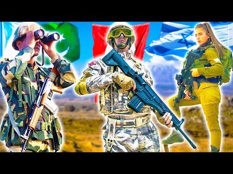 ТОП 5 СИЛЬНЕЙШИЕ АРМИИ БЛИЖНЕГО ВОСТОКА ⭐ Turkish Army; КСИР Vs ЦАХАЛ; Армия Ирана