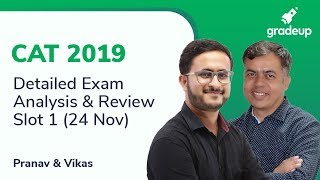 CAT 2019 Exam Analysis (24th Nov, Slot 1): Questions asked, Difficulty Level, Good Attempts