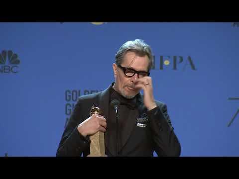 Gary Oldman  2018 Golden Globes  Full Backstage Speech
