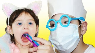 Going To The Dentist Song | Yasmina Pretend Play Sing-Along to Nursery Rhymes Kids Songs