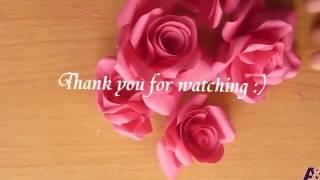 Download Video membuat mawar dari kertas keren mudah MP3 3GP MP4