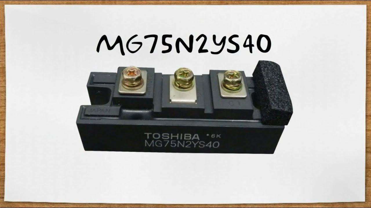TOSHIBA MG75N2YS40