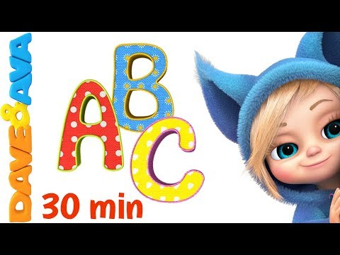 📚 Learn ABC's and Phonics | ABC Song | Nursery Rhymes & Kids Songs from Dave and Ava 📕