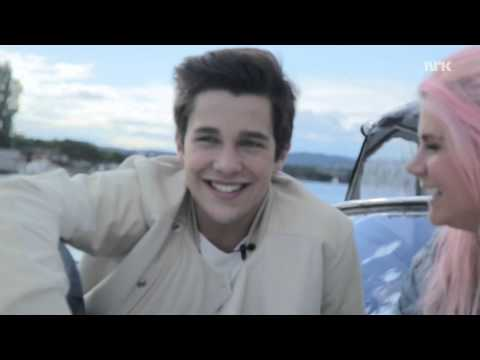 Austin Mahone and P3s Line went on a lovely boat trip