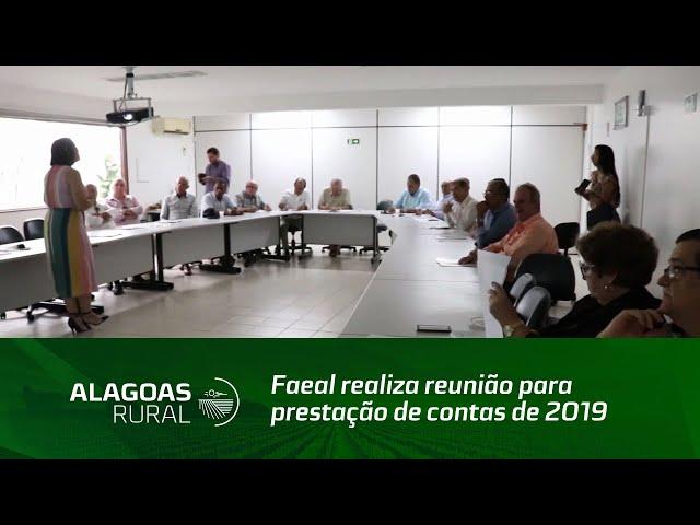 Faeal realiza reunião para prestação de contas de 2019