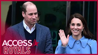 """Prince william always has kate middleton's back. the royal did an unprecedented interview earlier this year with giovanna fletcher on """"happy mum, happy b..."""