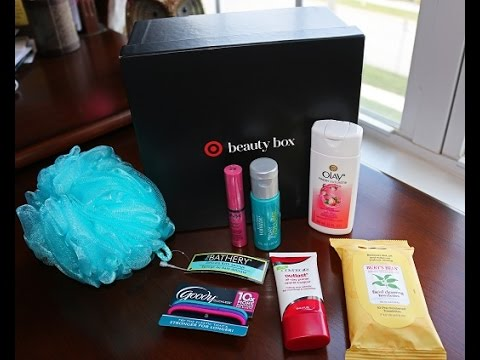 TARGET Back To College HONOR ROLL Beauty Box Unboxing Video