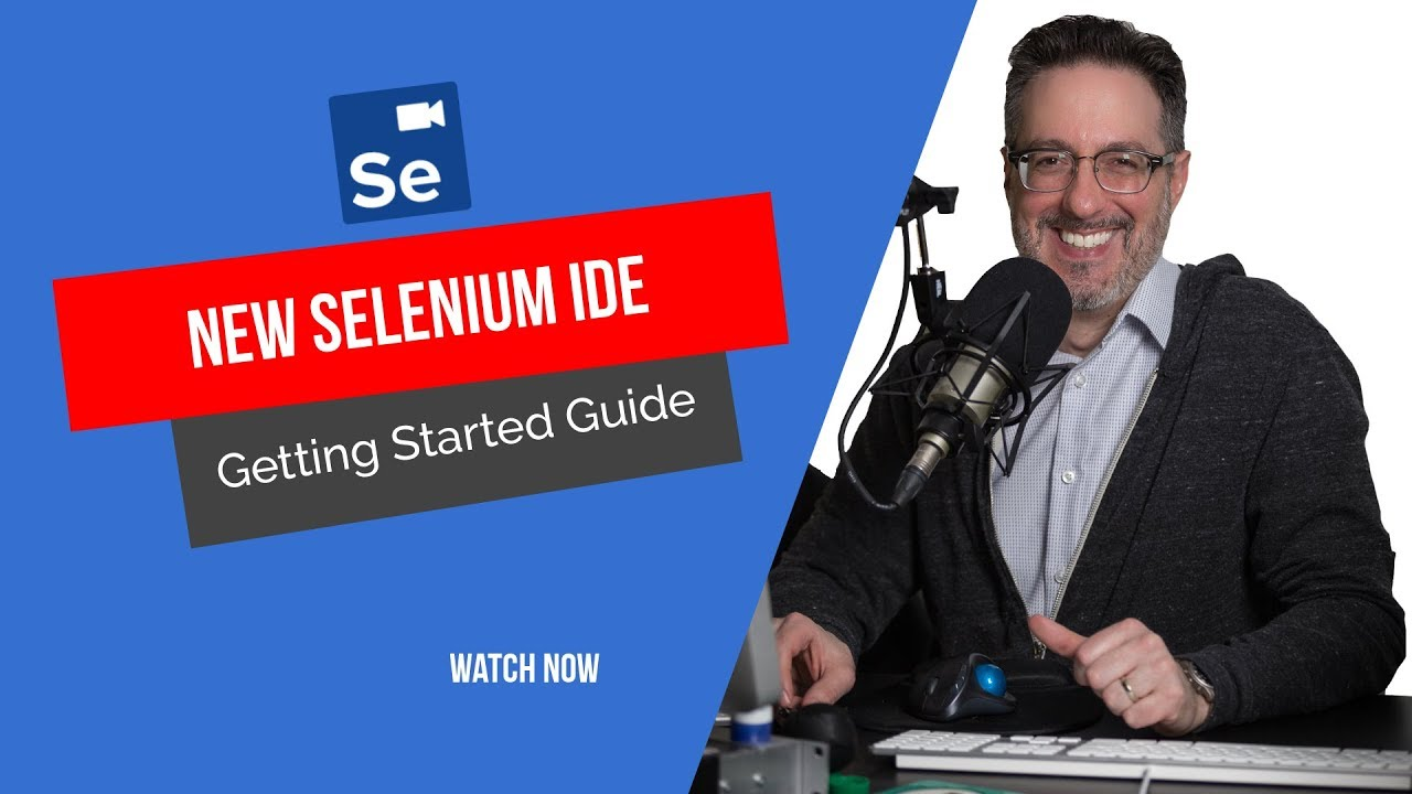 New Selenium IDE Getting Started (Part 1)