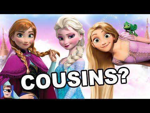 Frozen Theory: Rapunzel Is Anna & Elsa