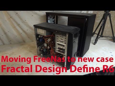 New Case for NAS - Fractal Design Define R6