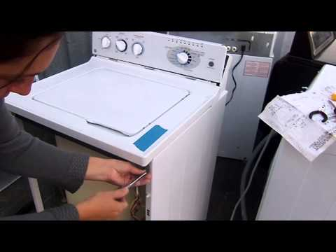 how to test a ge washer lid switch newer model 6 21