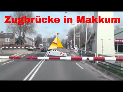 Zugbrücke Makkum - Friesland