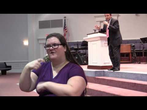 """Apostolic Assurance"" sermon in sign language 6/7/17"
