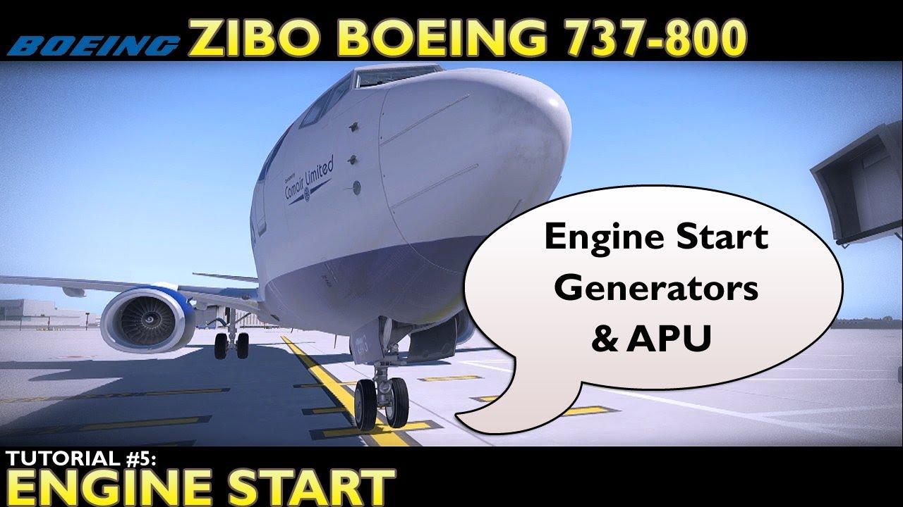 Zoomsim: X-Plane 11 : Zibo Boeing 737-800 : Tutorial 5