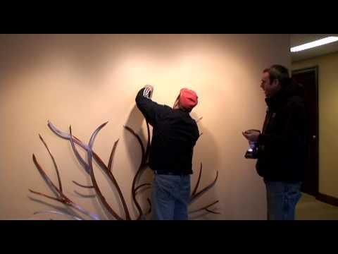 Steel Crazy Iron Art: Donation Tree Installation