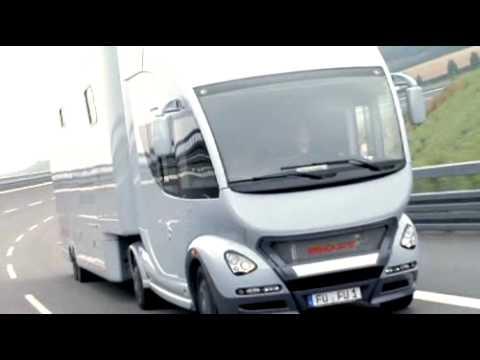 CARAVAN SALON 2010 - Der sanfte Truck - Ein Wohnmobil als Entspannungshimmel