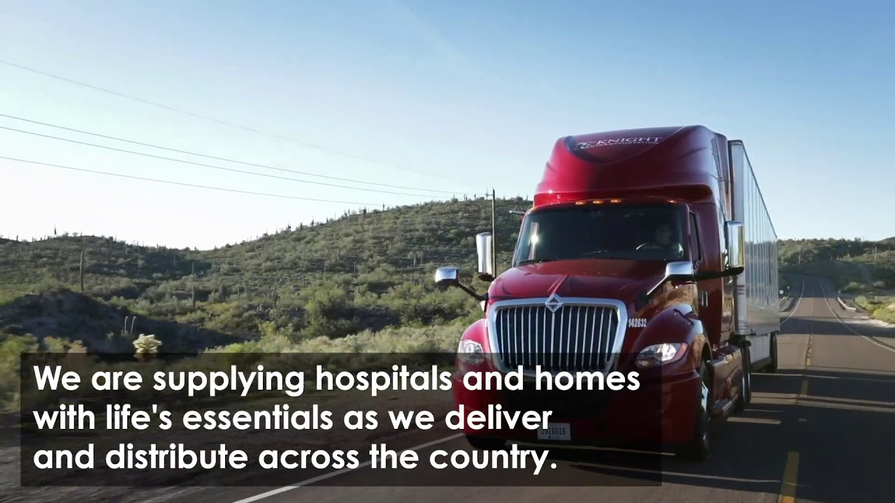 Truckers Delivering Essentials Across the Country