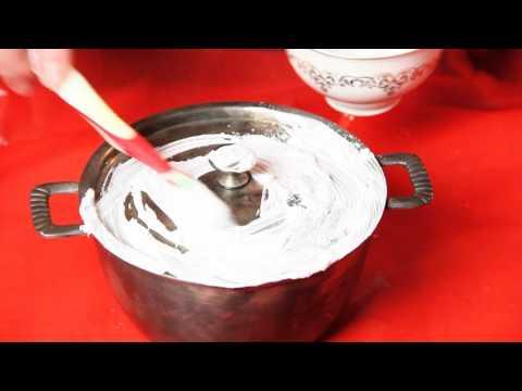 Супер способ чистить серебро и мельхиор