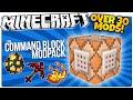 Minecraft | The Command Block Mod Pack | Over 30 Vanilla Mods! | Minecraft Custom Commands