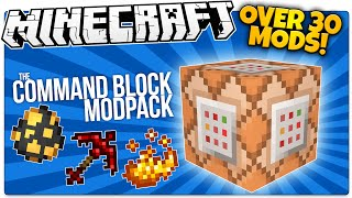 Minecraft | The Command Block Mod Pack | Over 30 Vanilla Mods! | Minecraft Custom Commands