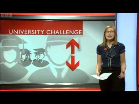 North West Universities Facing Falling Applications (BBC NWT - 30 Oct 2012)