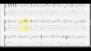 Sau tất cả (C) guitar tab solo by D U Y