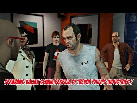 KETIKA TREVOR BERTEMU DENGAN PLAYER DI GTA 5 ONLINE (CUTSCENE)   PC