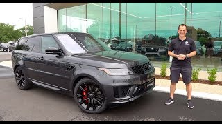 Is the 2019 Range Rover Sport HST P400 worth the PRICE?