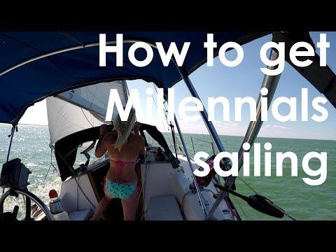 Millennials sailing, solar, anchors! Lady K Sailing - Episode 6
