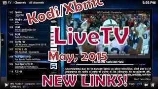 KODI/Xbmc IPTV (LiveTV) MAY, 2015 **ALL COUNTRIES***