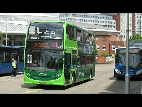 Buses & Trains at Norwich Spring 2017